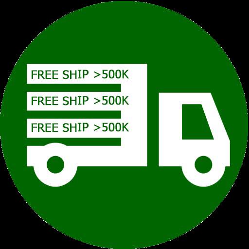 Miễn phí ship đơn từ 500k trở lên