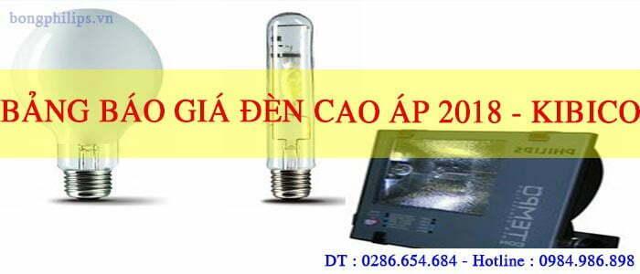 BANG BAO GIA BONG DEN CAO AP PHILIPS