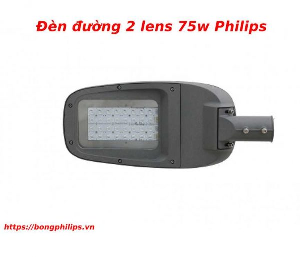 đèn đường 2 lens 75w