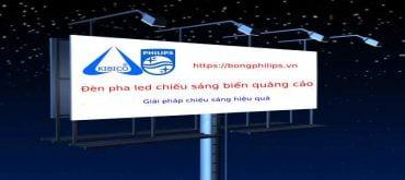 đèn pha led chiếu biển quảng cáo