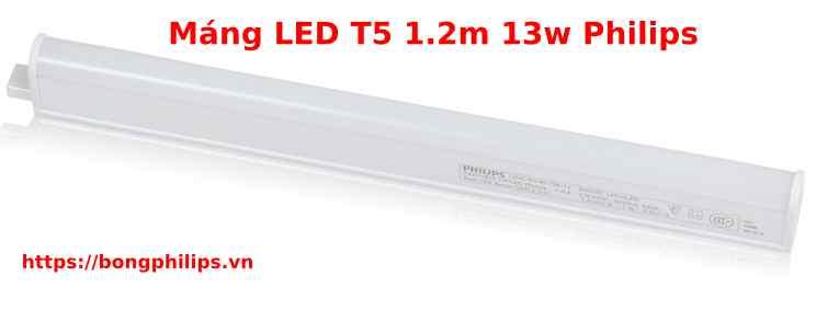 máng LED T5 1.2m 13W BN058C