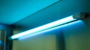 Thời gian khử khuẩn bằng đèn tia cực tím