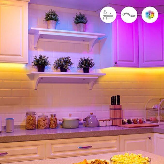 Đèn led dây thông minh wiz điều khiển bằng điện thoại Philips